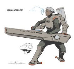ArtStation - Sci-fi Doodles, Tom McDowell