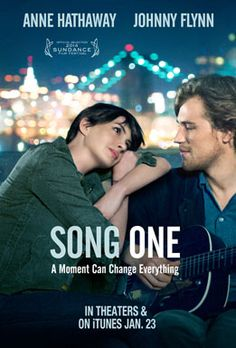 Oscar® winner Anne Hathaway (Interstellar, Les Miserables) stars as Franny in SONG ONE, a romantic drama set against the backdrop of Brooklyn's vibrant modern-folk music scene. After Franny's musician brother Henry (Ben Rosenfield, Boardwalk Empire) is injured and hospitalized in a coma following a car accident, Franny returns home after a long estrangement and begins to use his notebook as a guide to how his life has evolved in her absence. Franny seeks out the musicians and artists Henry…