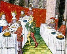 El banquete mediaval   http://ellapizdemontse.blogspot.com.es/2012/05/banquete-medieval.html Tambien en   http://nosinmisninos.blogspot.com.es/search/label/Edad%20Media