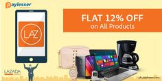 Go Exclusive with his voucher - FLAT 12% OFF on all products at #LAZADA. Click here to unlock the code..>
