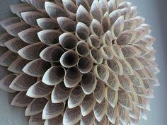 Booklicious Paper Wreaths