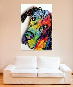 Another great find on #zulily! Tilted Dane Wrapped Canvas by Dean Russo #zulilyfinds