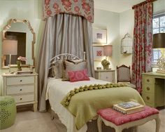 Girls Bedroom Ideas in Traditional Style