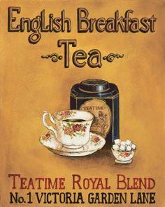 English Breakfast Tea, Best Breakfast, Breakfast Quotes, Cuppa Tea, Tea Tins, Tea Art, My Cup Of Tea, Tea Blends, Tea Recipes