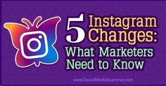 5 Instagram Changes: What Marketers Need to Know—Instagram rolled out updates to its ad products, video features & news… http://itz-my.com