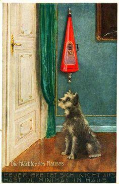 """Minimax """"Die Wächter des Hauses"""", Berlin NW, um 1912"""