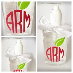 """Personalized Teachers Gift Made to order. These hand sanitizers are the perfect gift to just say """"Thank You"""" to your kid's teacher. Other"""