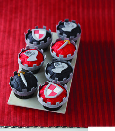 Knight cupcakes, or perhaps switch it up for some GOT