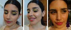 Maquillaje inspirado en una diva.