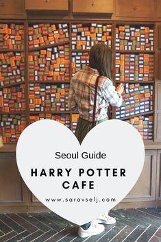 Harry Potter Cafe Hongdae Seoul Korea A must visit for Harry Potter fans when visiting Seoul Seoul Korea Travel, South Korea Seoul, Asia Travel, South Korea Culture, South Korea Fashion, Busan, Visit Seoul, Seoul Places To Visit, Korea Winter