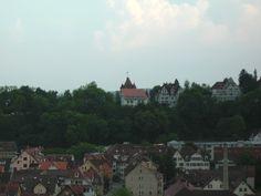 Richtung Schlossberg und Verbindungshäusern