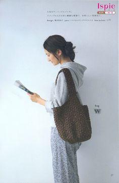 Natural Crochet --- tasky a klobouky