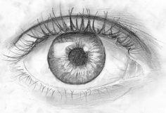 Как нарисовать глаз человека карандашом | Как легко и просто ...