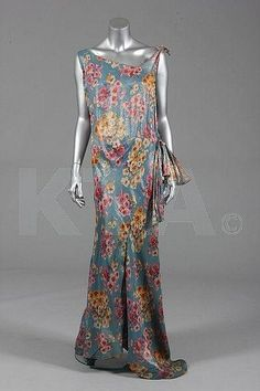 83157d48269 Evening Dress c. mid to late 1930 s Kerry Taylor Auctions 1930s Fashion