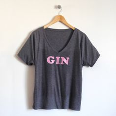 Gin Ladies T-Shirt – Pair with our children's 'Juice' graphic tee for a hip-hoppin' throwback.