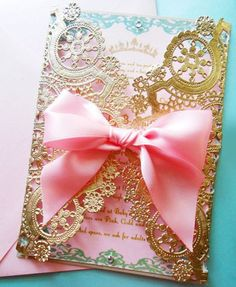 Adopt the Laser Cut Trend for your Quinceanera