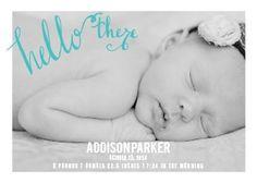Hello There Birth Announcements