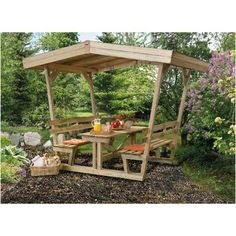 Awesome Picknick table