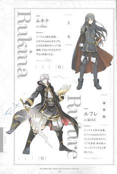 Artworks (4 Koma) - Lucina, Robin / Daraen - Fire Emblem Wars Of Dragons