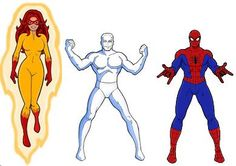 Spiderman, Firestar, & Iceman My daughter wants a fire star 4th birthday party.