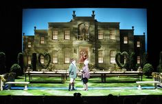 The Sorcerer. Fisher Center, Theater Two. Scenic design by David Korins.