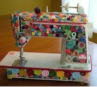 Cute idea for sewing machine