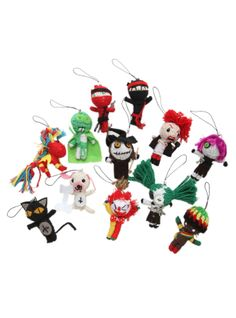 Krazy Town Voodoo Blind Box String Doll.  Which one will show up at your door?