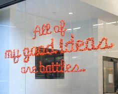 All of my good ideas are battles by Adam Katz
