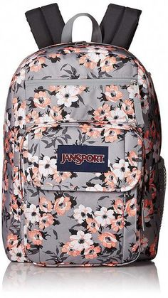 Looking for JanSport Digital Student Laptop Backpack- Sale Colors (Coral Sparkle Pretty ? Check out our picks for the JanSport Digital Student Laptop Backpack- Sale Colors (Coral Sparkle Pretty from the popular stores - all in one. Backpacks For College Girl, Best Backpacks For School, Backpacks For Sale, Cool Backpacks, Teen Backpacks, Stylish Backpacks, Mochila Jansport, Jansport Backpack, Laptop Backpack