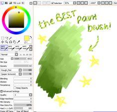 Paint Tool Sai brushes
