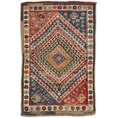 """Vintage Karakeceli Rug 3'7""""x5'6"""" (6,470 CAD) ❤ liked on Polyvore featuring home, rugs, fillers, decor, backgrounds, vintage rug, handwoven rug, woven wool rug, woven rug and hand woven rugs"""