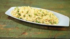 Baked Leek and Pea Risotto Recipe | The Chew - ABC.com