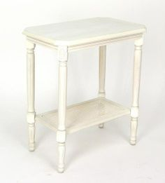 Side Table in White