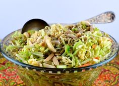 Liven things up in the slaw world with this creative broccoli version.