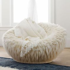 Find dorm lounge chairs at Pottery Barn Teen. Create a comfy seating area in your dorm room with these cozy chairs. Papasan Chair, Diy Chair, Swivel Chair, Chair Cushions, Chair Pads, Faux Fur Bean Bag, Cool Chairs, Fur Chairs, Eames Chairs