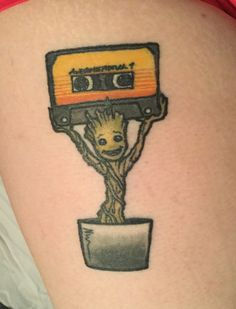 Cute lil dancing Groot! #guardiansofthegalaxy #fan #geek