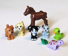 Lego Girls, Lego For Kids, Lego Friends, Lego Elves Sets, Lego Dog, Black And White Kittens, Wedding Peach, Lego Furniture, Lego Animals