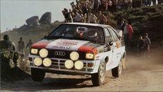Rally Car, Audi Quattro, Racing, Portugal, Nostalgia, Classic, Vintage, Auto Racing, Cars