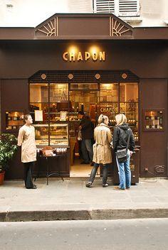 Chapon Chocolaterie, Paris. Photo by EverJean via Flickr.