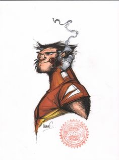Francisco Herrera Wolverine Comic Art