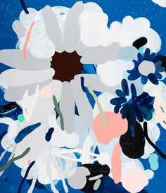 Kirra Jamison | Sophie Gannon Gallery floral paint print