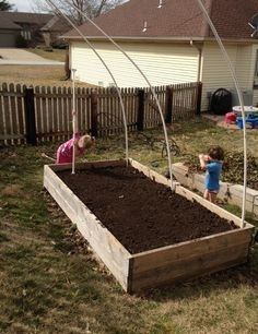 Garden DIY: A hot house for late winter seeds