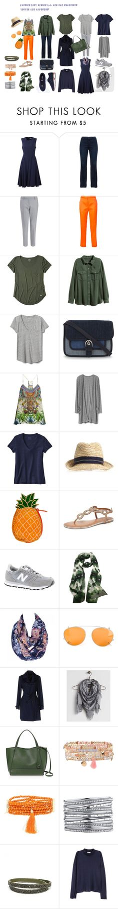 """""""Capsule Packing List Spring Los Angeles and San Francisco"""" by luniflora on Polyvore featuring Mode, P.A.R.O.S.H., NYDJ, Maison Rabih Kayrouz, Hollister Co., Gap, MICHAEL Michael Kors, Camilla, Patagonia und Dorothy Perkins"""
