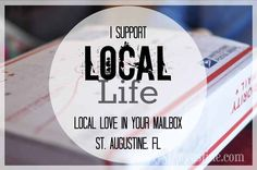 Missing St Augustine? Send a bit of the Local Life in the mail.