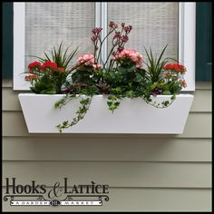 24in. Tapered Urban Chic Premier Window Box w/ *Easy Up* Cleat Mounting System $103.99