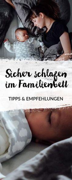 Entspannt und sicher schlafen mit Baby im Familienbett | Tipps und Empfehlungen