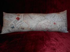 L47 1 Lumbar Travel or Neck   French by NoveltyPillows4All on Etsy, $18.00