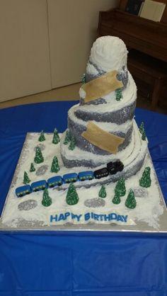 Polar Express Train Cake Ideas