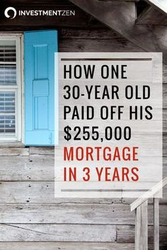 This story is so inspiring! What's the secret to paying off your mortgage in 3 years? Does kraft dinner, living in your basement, and working 3…