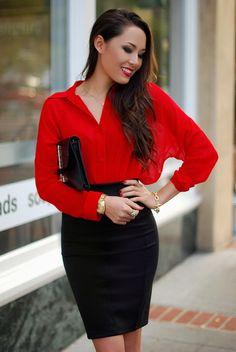 красная блуза - Поиск в Google